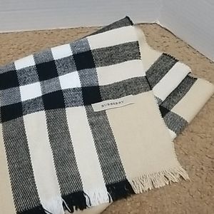 Burberry Scarf 72in x 17 in